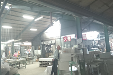 有限会社日向設備鋼業 第1工場作業場